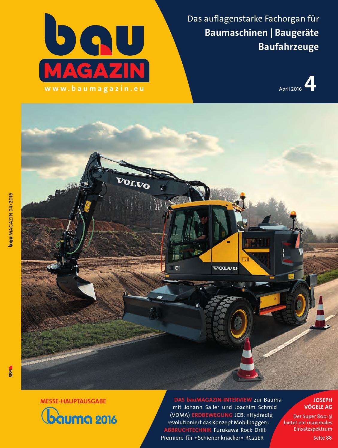 Baumagazin April 2016 by SBM Verlag GmbH - issuu