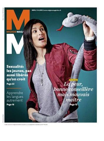 Migros magazin 15 2016 f vs by Migros-Genossenschafts-Bund - issuu 92f595484b41