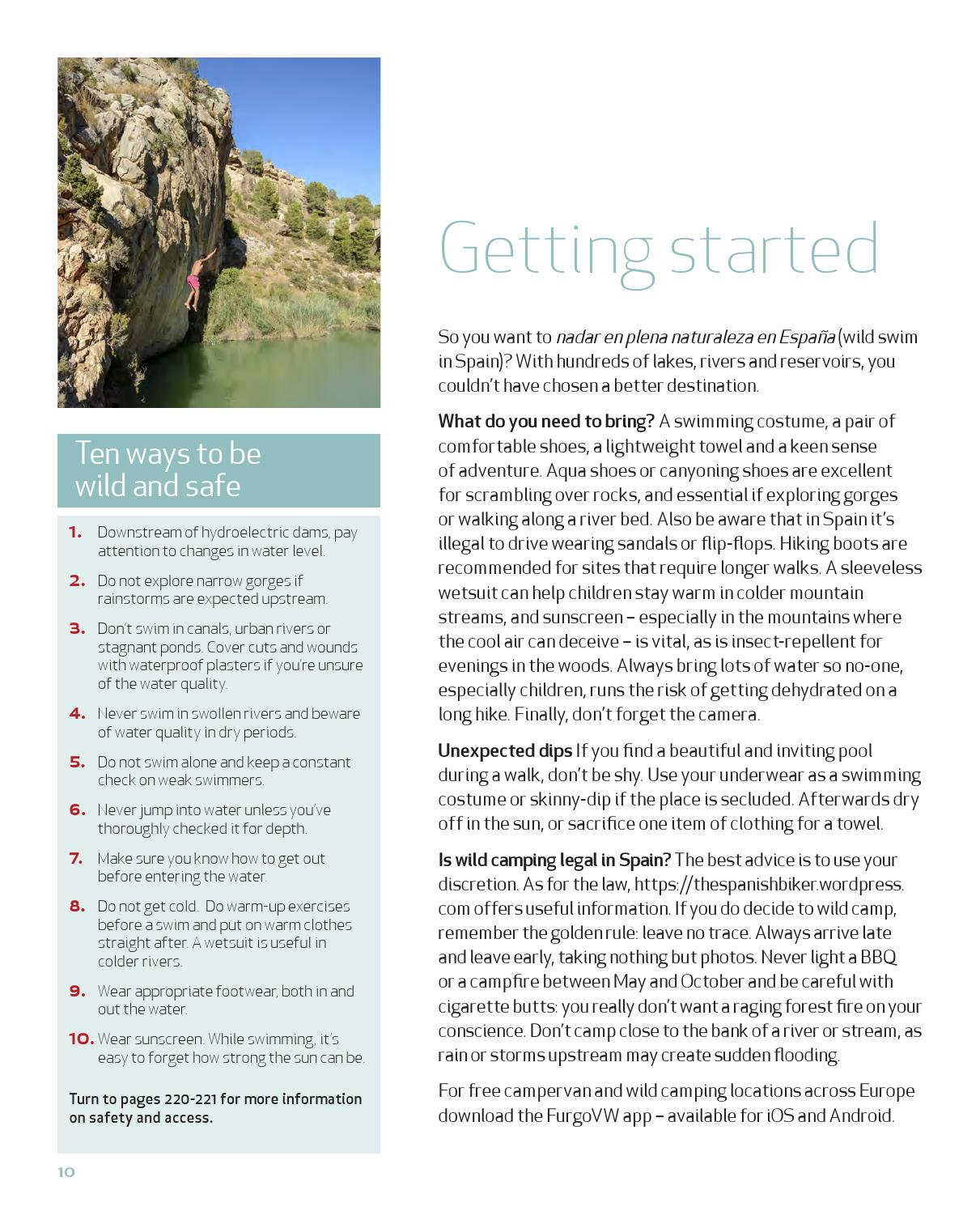 Wild Swimming Spain preview by Wild Things Publishing - issuu