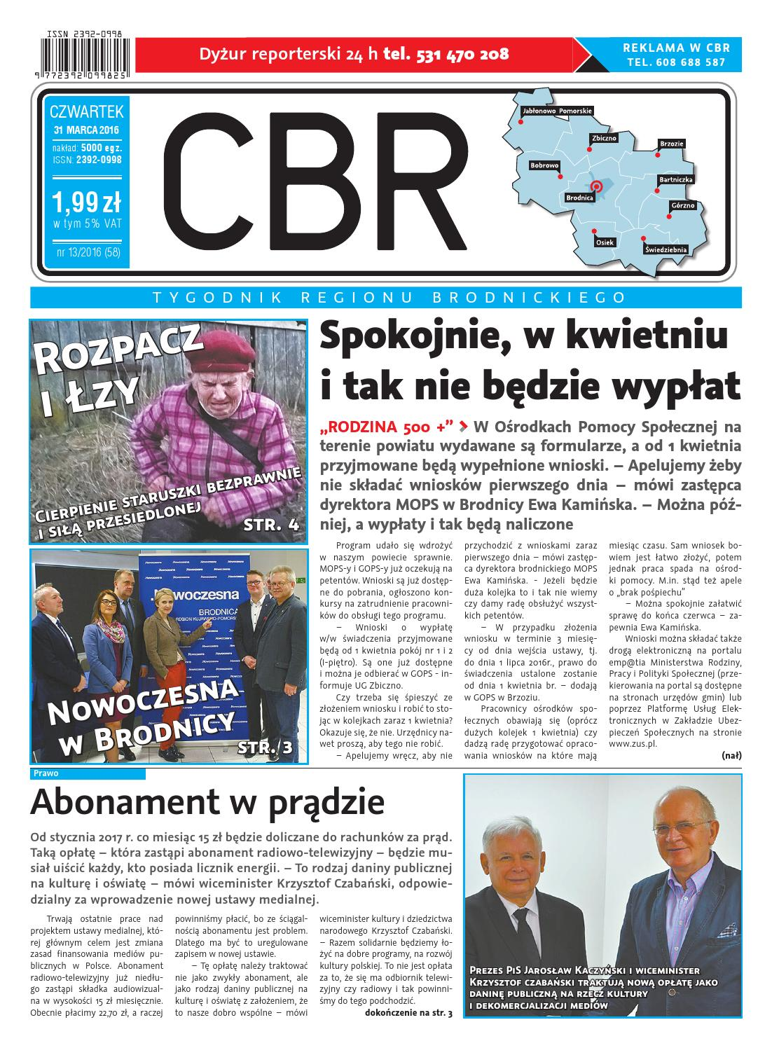Cbr Nr 58 By Brodnica Cbrpl Issuu