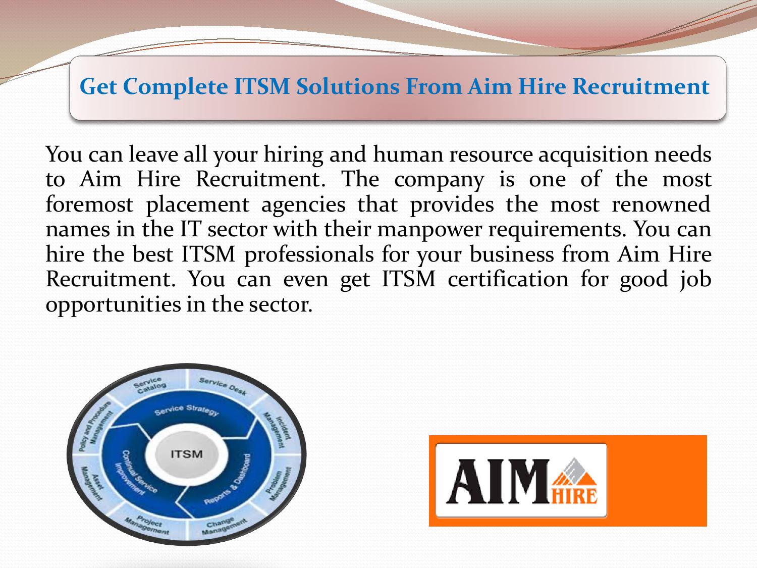 Get complete itsm solutions from aim hire recruitment by get complete itsm solutions from aim hire recruitment by jaksonwilliam issuu xflitez Choice Image