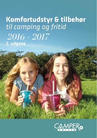 Camper Fritid Hovedkatalog 2016 by Intercamp A/S - issuu