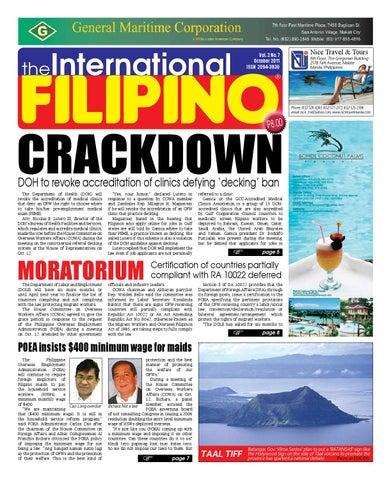 The International Filipino October 2011 by The International