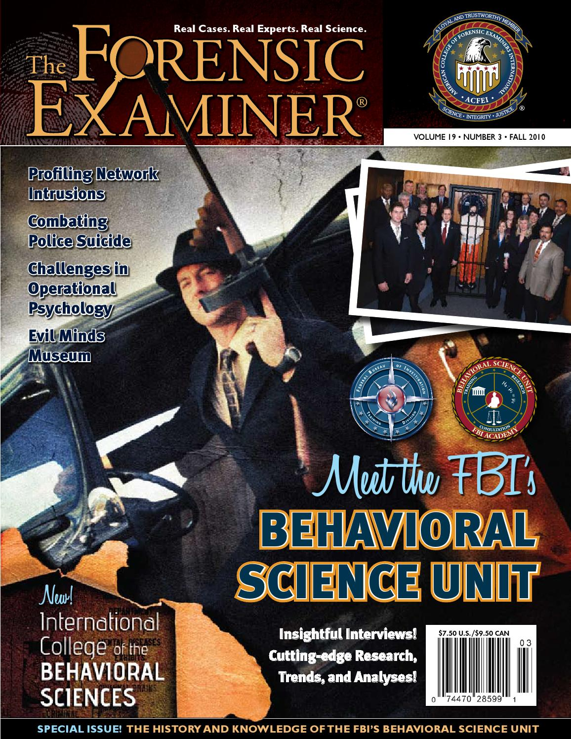 The Forensic Examiner Fall 2010 By Cnta Inc Issuu