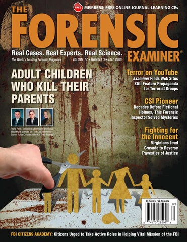 The forensic examiner sample fall 2008 by cnta inc issuu page 1 fandeluxe Image collections