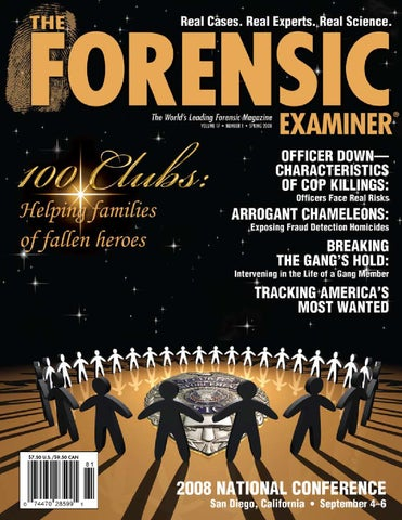 The forensic examiner sample spring 2008 by cnta inc issuu page 1 fandeluxe Image collections