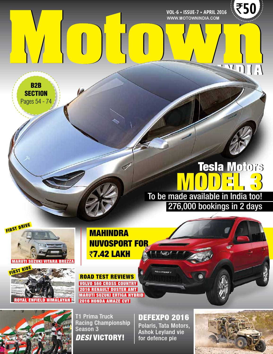 Motown India April 2016 By Issuu Honda Keihin Cv Carburetor Diagram Car Interior Design