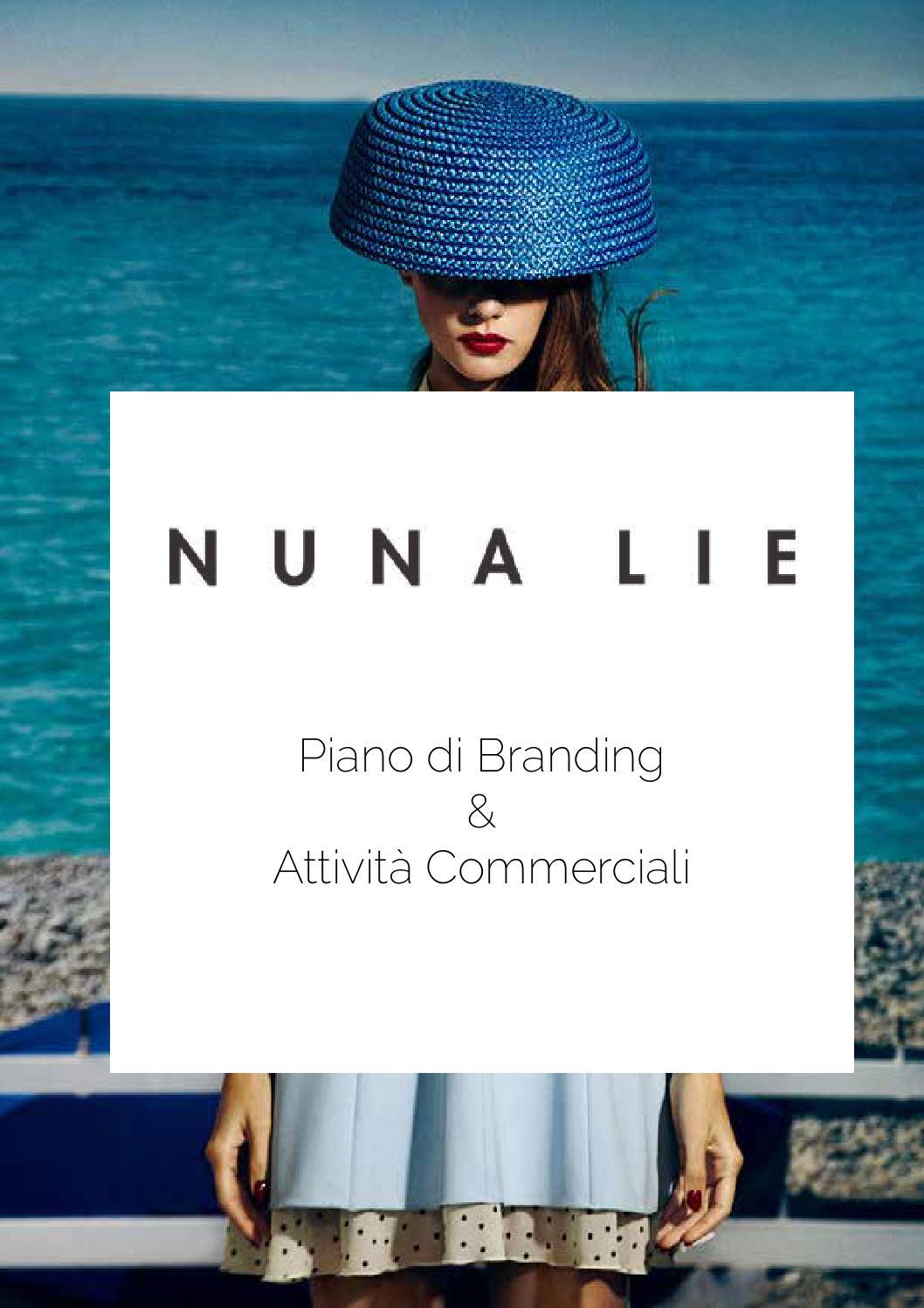 Piano di branding e attività commerciale per Nuna Lie by IED Master Roma -  issuu 46f1bca8a78