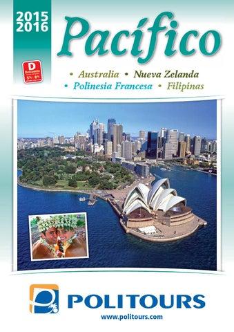 Catálogo politours pacifico 2017