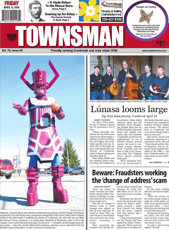 Cranbrook Daily Townsman April 08 2016 By Black Press Issuu