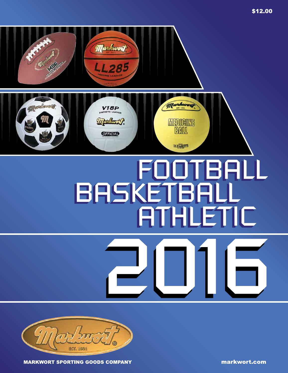 timeless design 977af bbf71 2016 Markwort Football Basketball Athletic Catalog