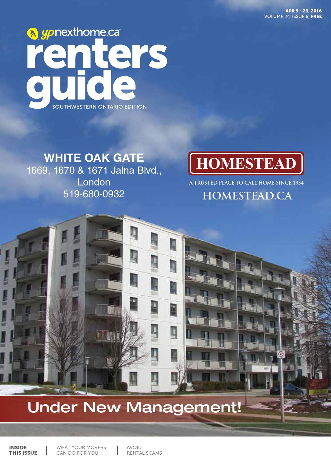 Southwestern Ontario Renters Guide - 9 Apr, 2016 by NextHome - issuu