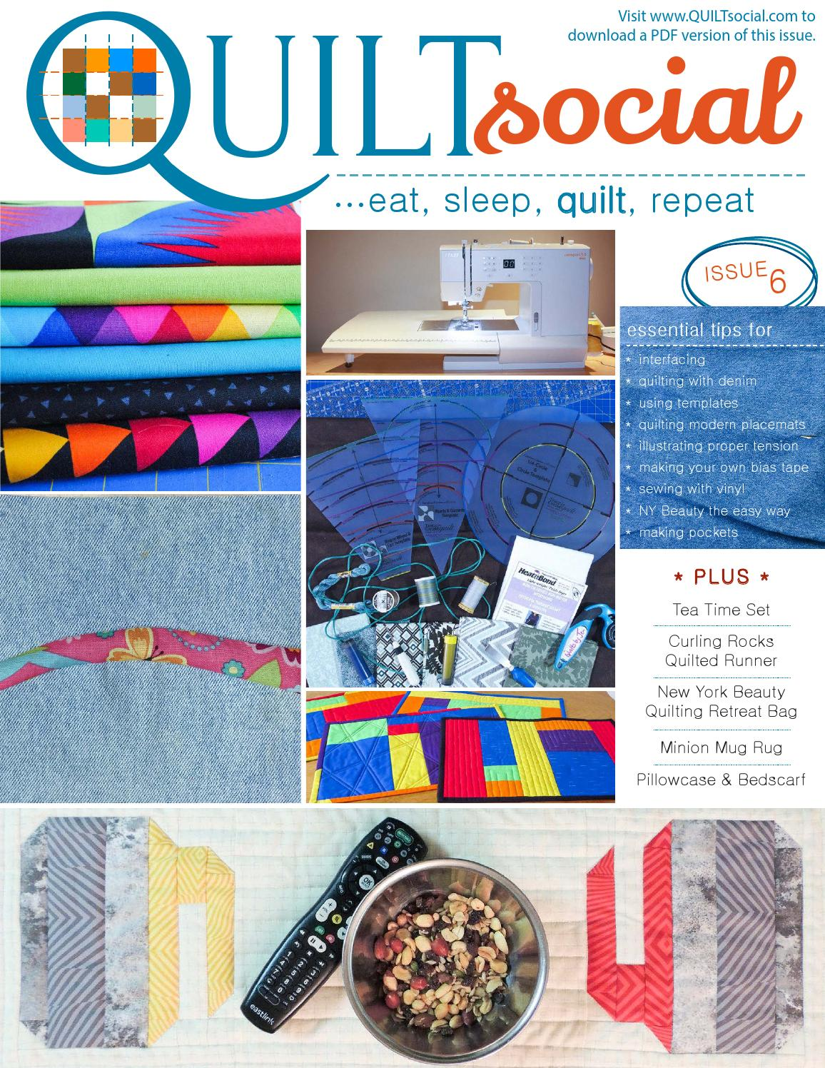 QUILTsocial | Issue 6 by ANPTmag - issuu