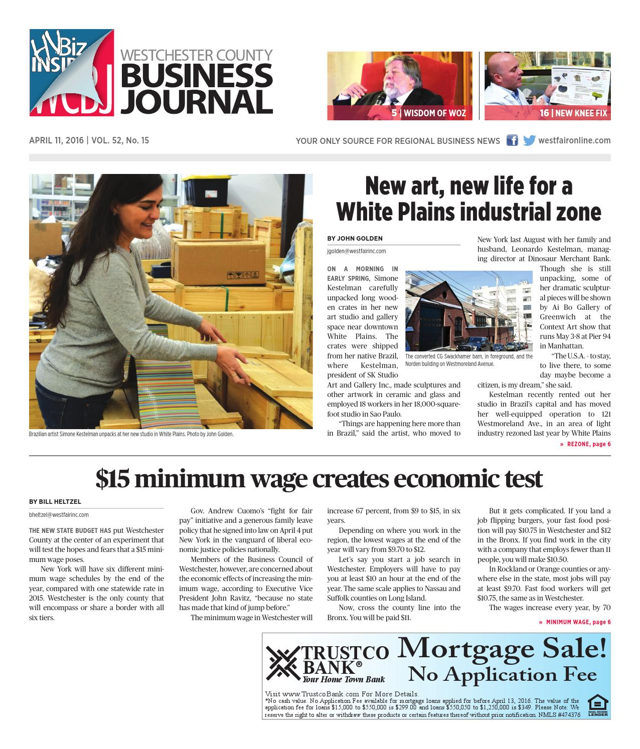 Westchester County Business Journal 041116 By Wag Magazine Issuu