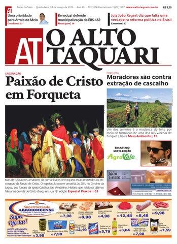 b940fff24c81a Jornal O Alto Taquari - 24 de março de 2016 by Jornal O Alto Taquari ...