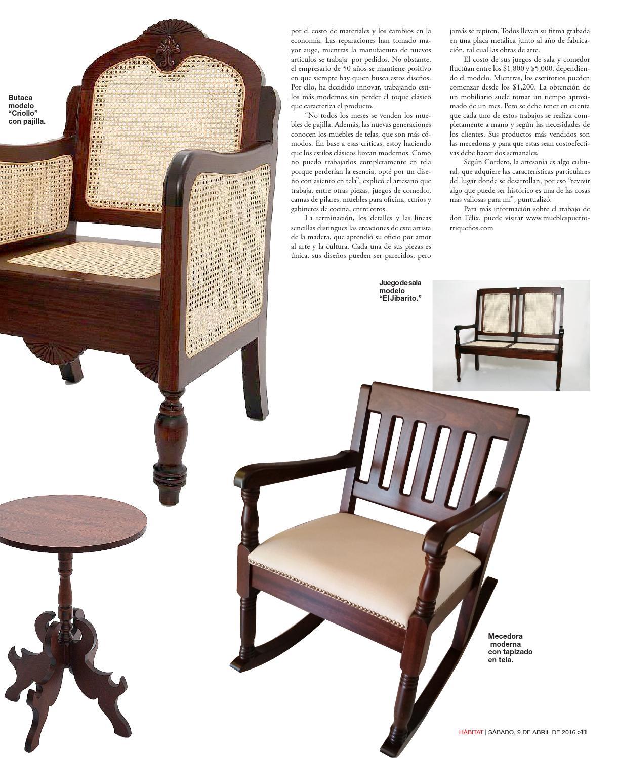Muebles Con Pajilla - Revista Digital H Bitat 8 De Abril De 2016 By El Vocero De Puerto [mjhdah]https://i.pinimg.com/originals/d0/78/7e/d0787e2374de69941f537fbbacc93e9f.jpg