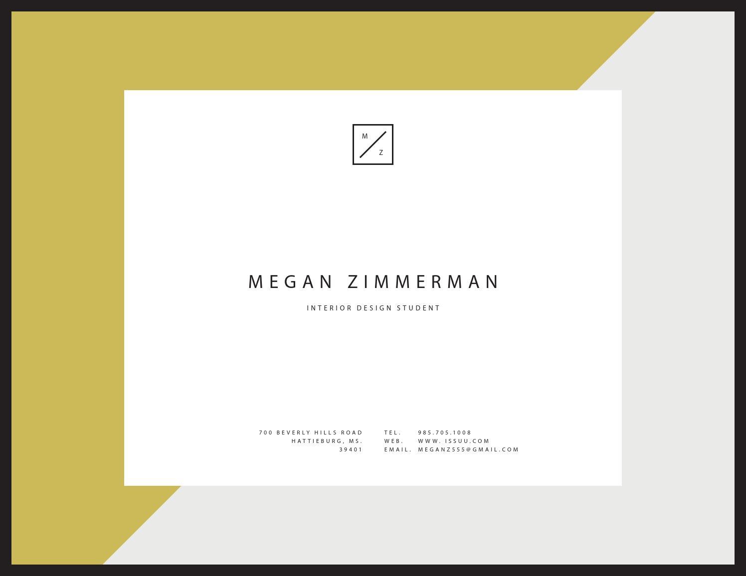 Megan's design portfolio by meganz - issuu