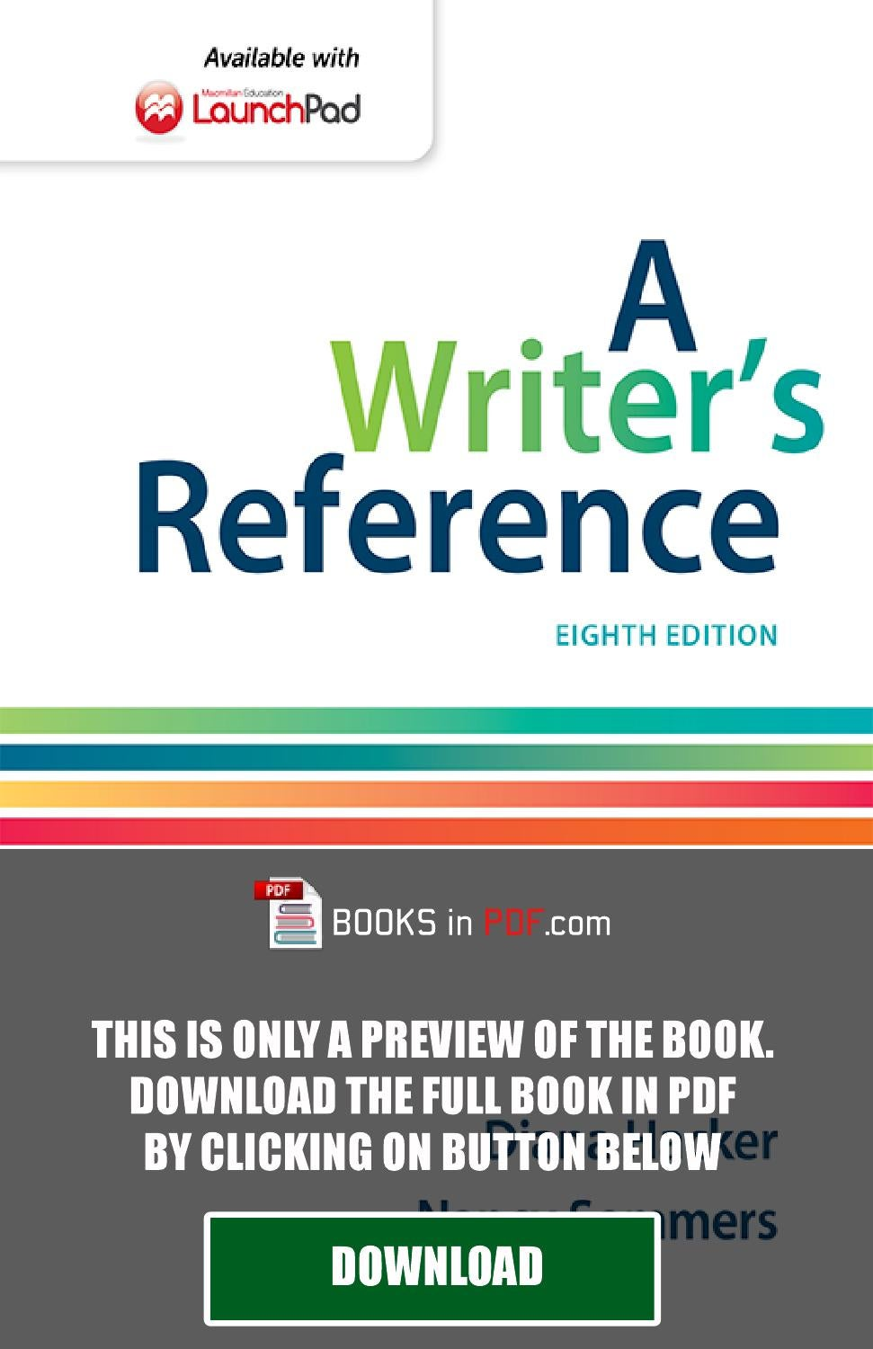 A Writer's Reference 8th Edition by Diana Hacker PDF Free by Luis York -  issuu