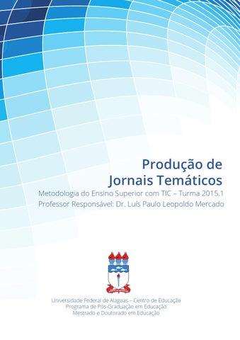 382ede49fe Produção de Jornais Temáticos by Guilmer Brito - issuu