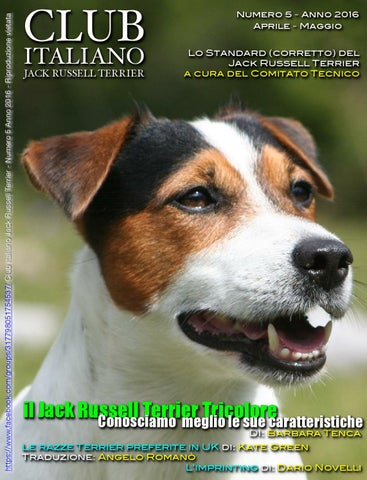 Club Italiano Jack Russell Terrier N5 2016 By Club Italiano