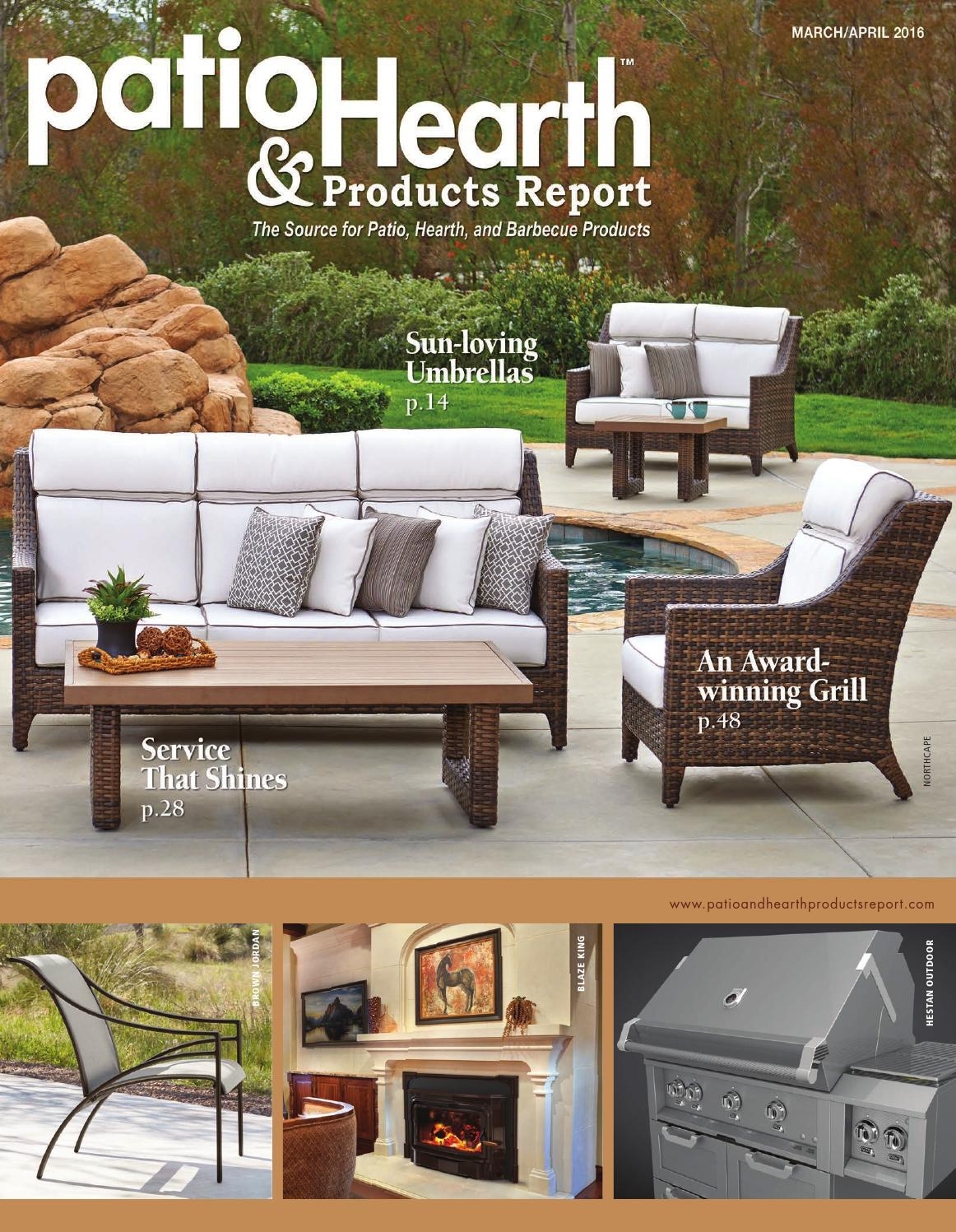 Wonderful Patio U0026 Hearth Products Report March April 2016