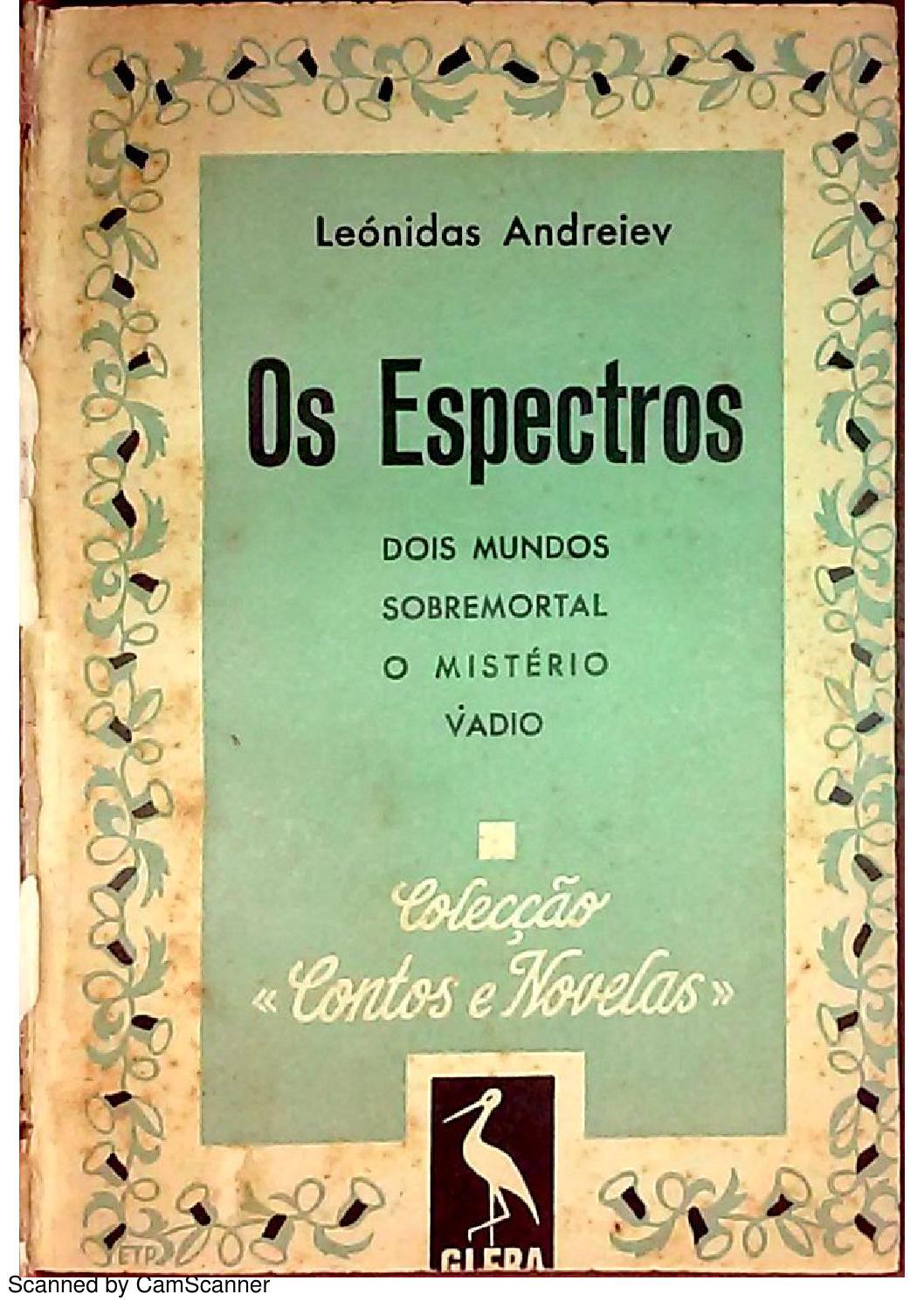 Os espectros (194?) by Biblioteca Digital de Leonid Andrêiev