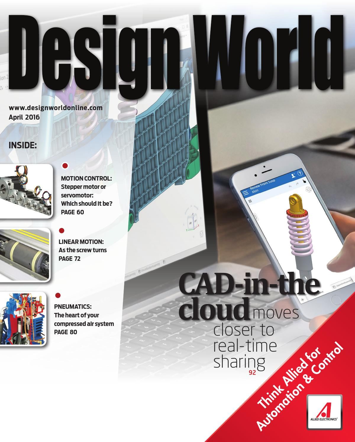 Design World April 2016 By Wtwh Media Llc Issuu Motor Additionally Bodine Electric Wiring Diagram Also Thermal