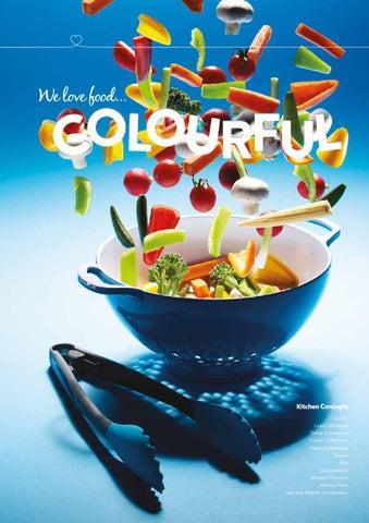 Yellow KitchenCraft Colourworks Silicone Mixing Spoon 27.5 cm