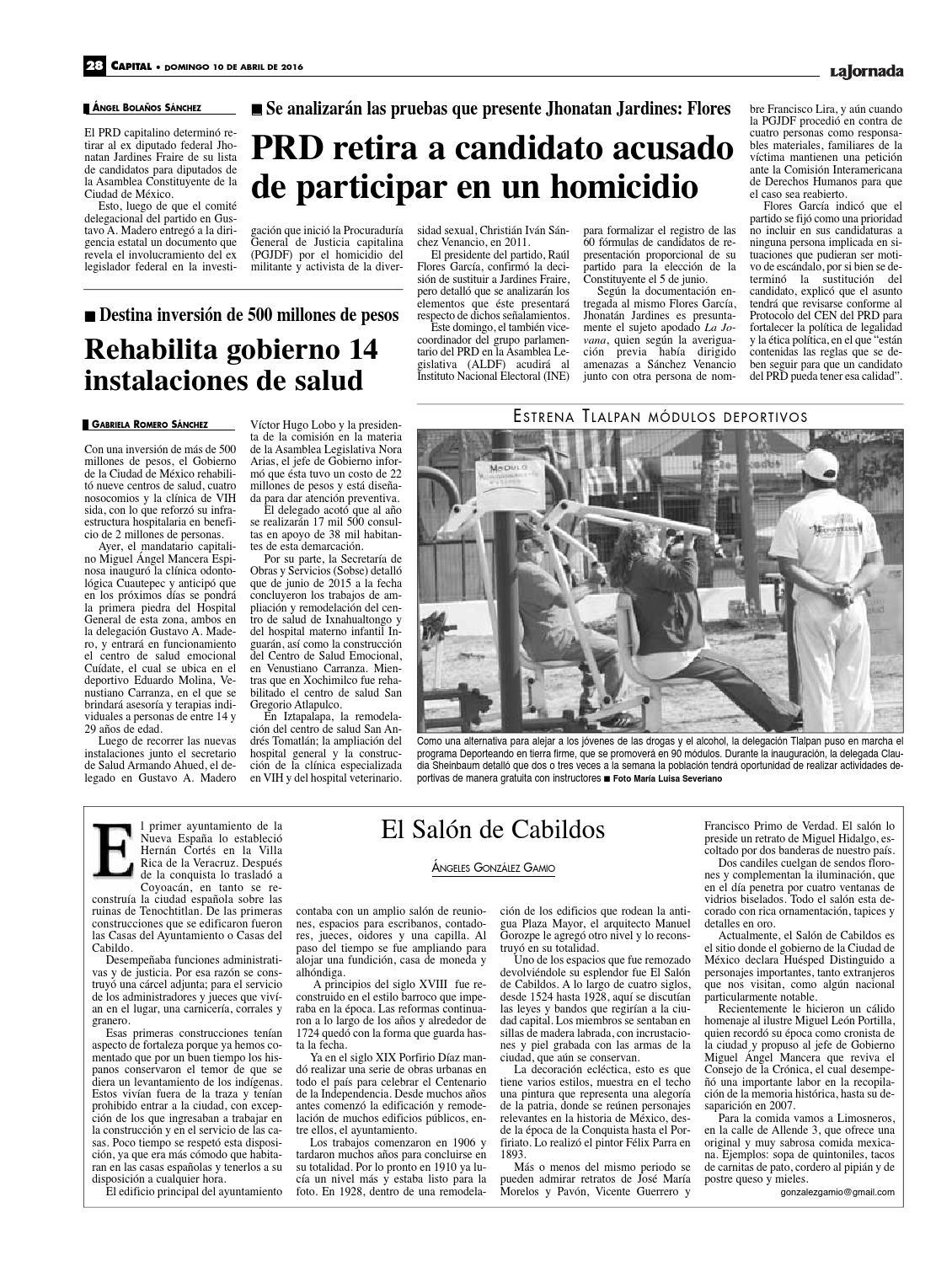 La Jornada 04 10 2016 By La Jornada Issuu