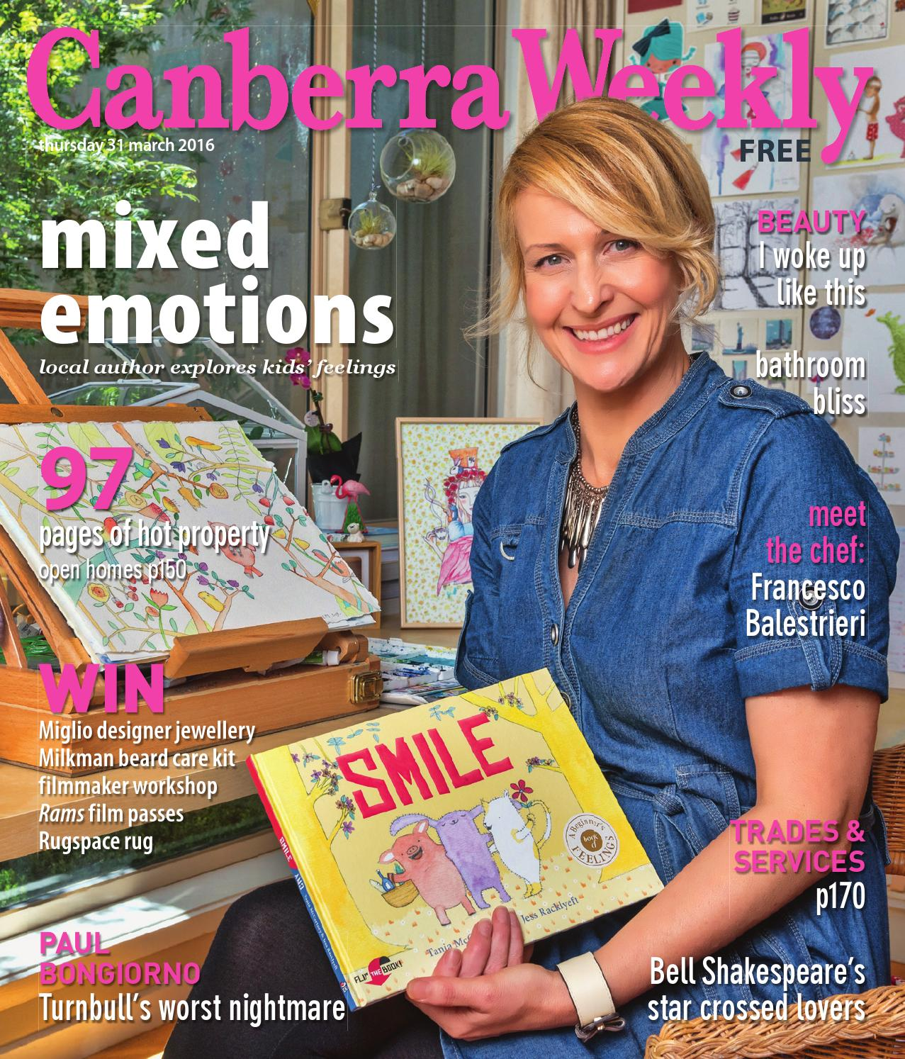 1422c6653a1 31 March 2016 by Canberra Weekly Magazine - issuu