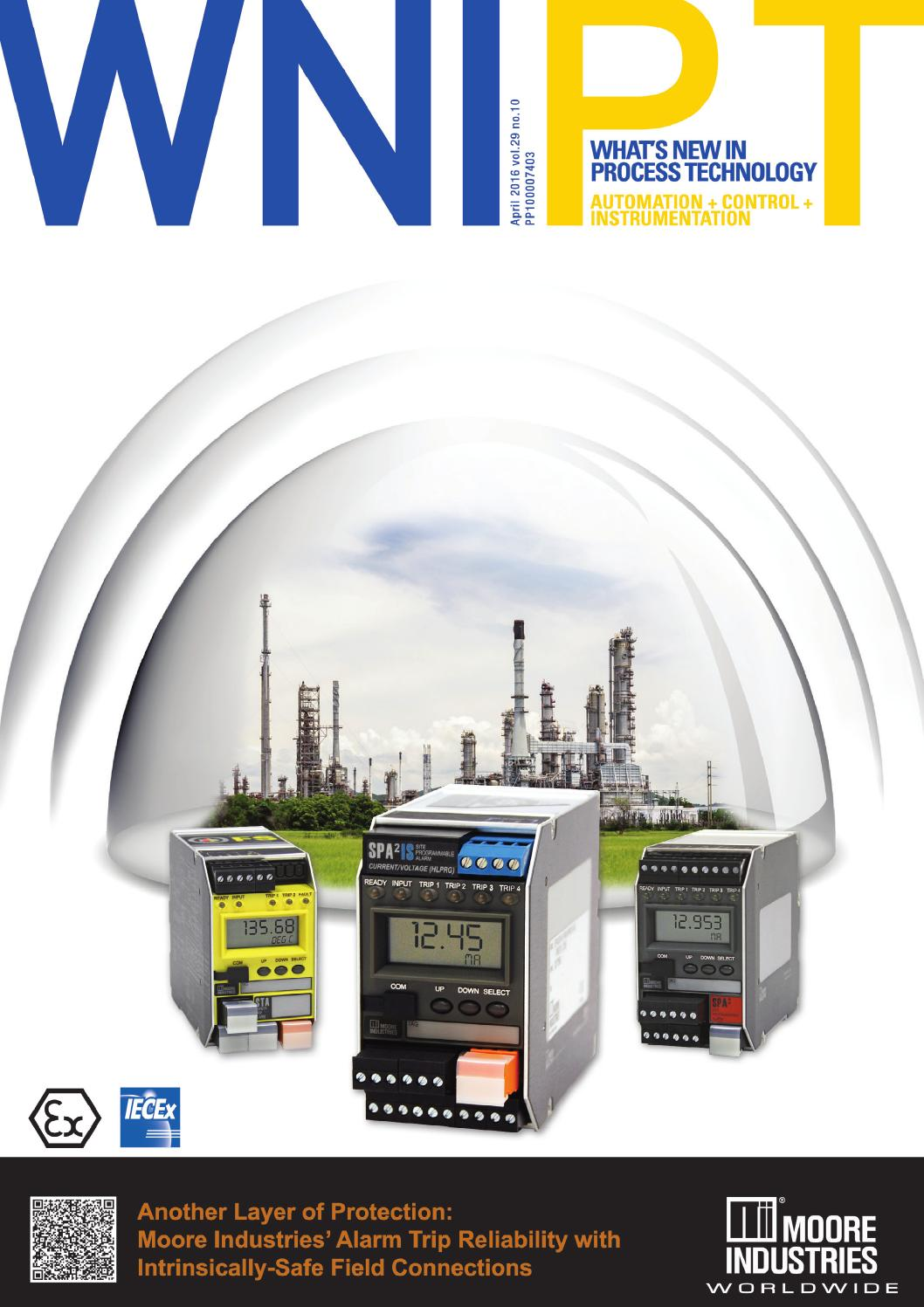 Whats New In Process Technology Apr 2016 By Westwick Farrow Media Automation And Controls How To Test Whether A Sensor Has Pnp Or Npn Issuu