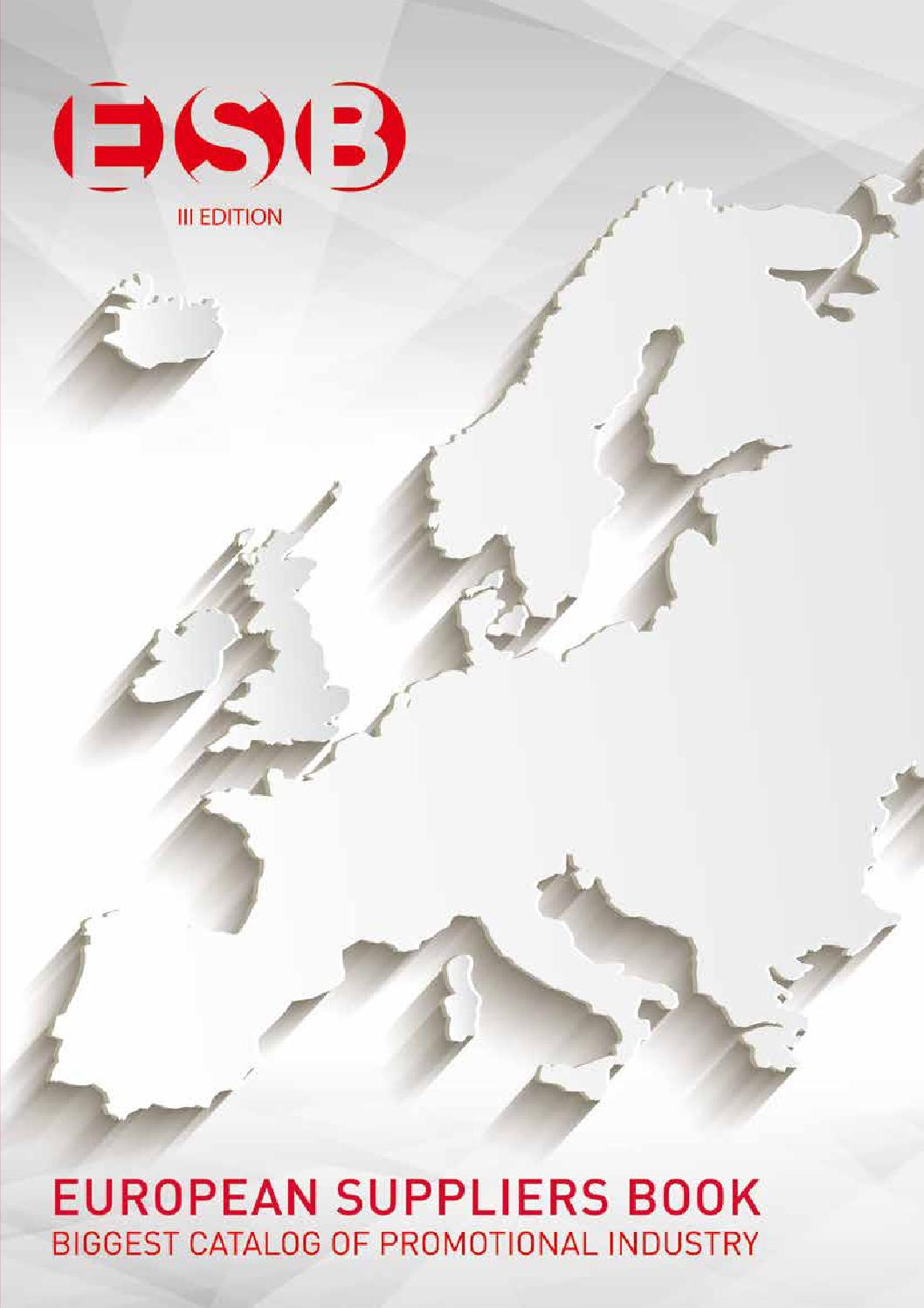 European Suppliers Book 2015 By Gjc International Issuu