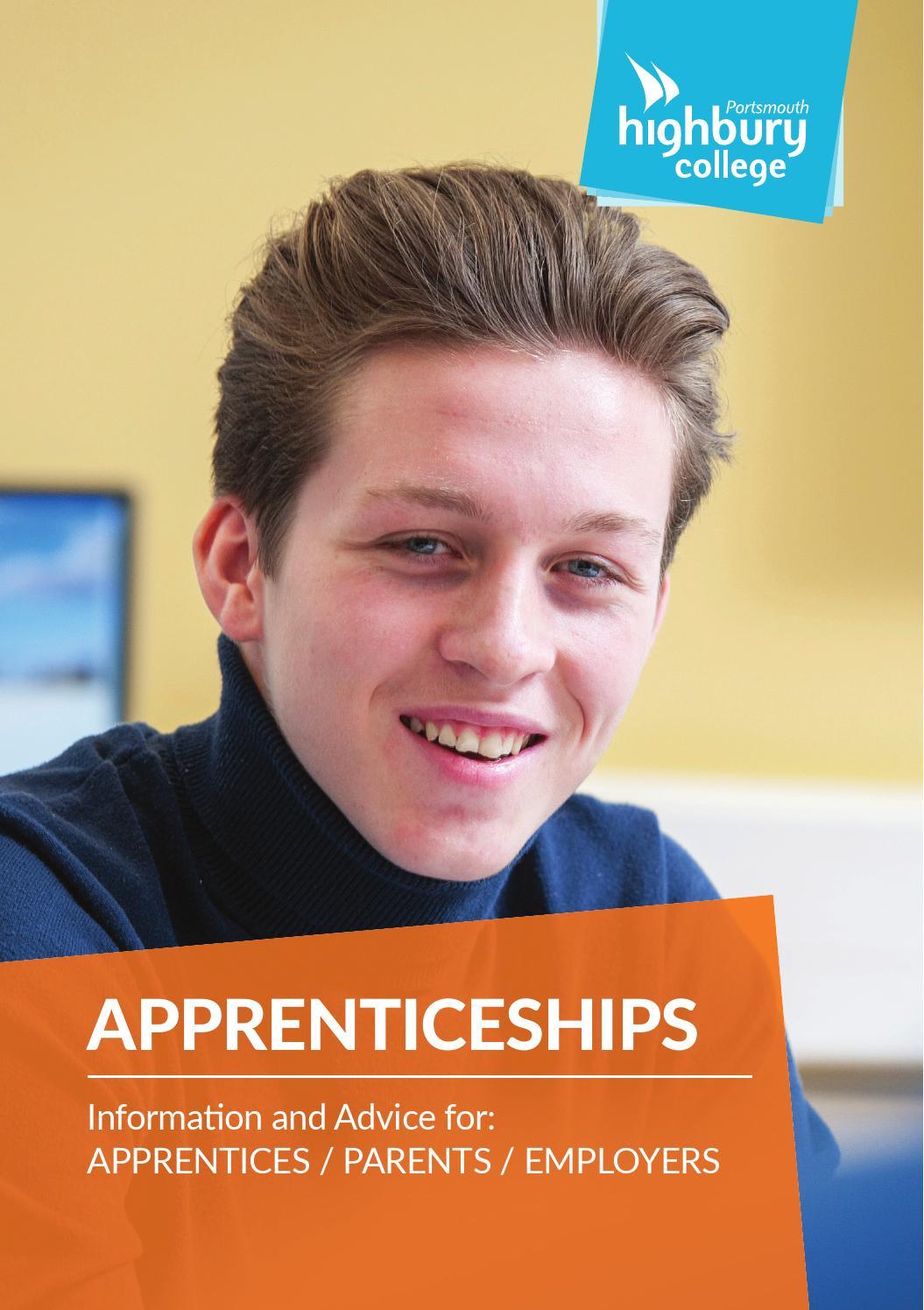 Highbury college apprenticeships brochure march 2016 by highbury highbury college apprenticeships brochure march 2016 by highbury college issuu dailygadgetfo Images