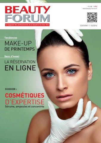 BEAUTY FORUM Magazine n°4 by HEALTH AND BEAUTY MARKETING FRANCE - issuu ed82e67e1ee8