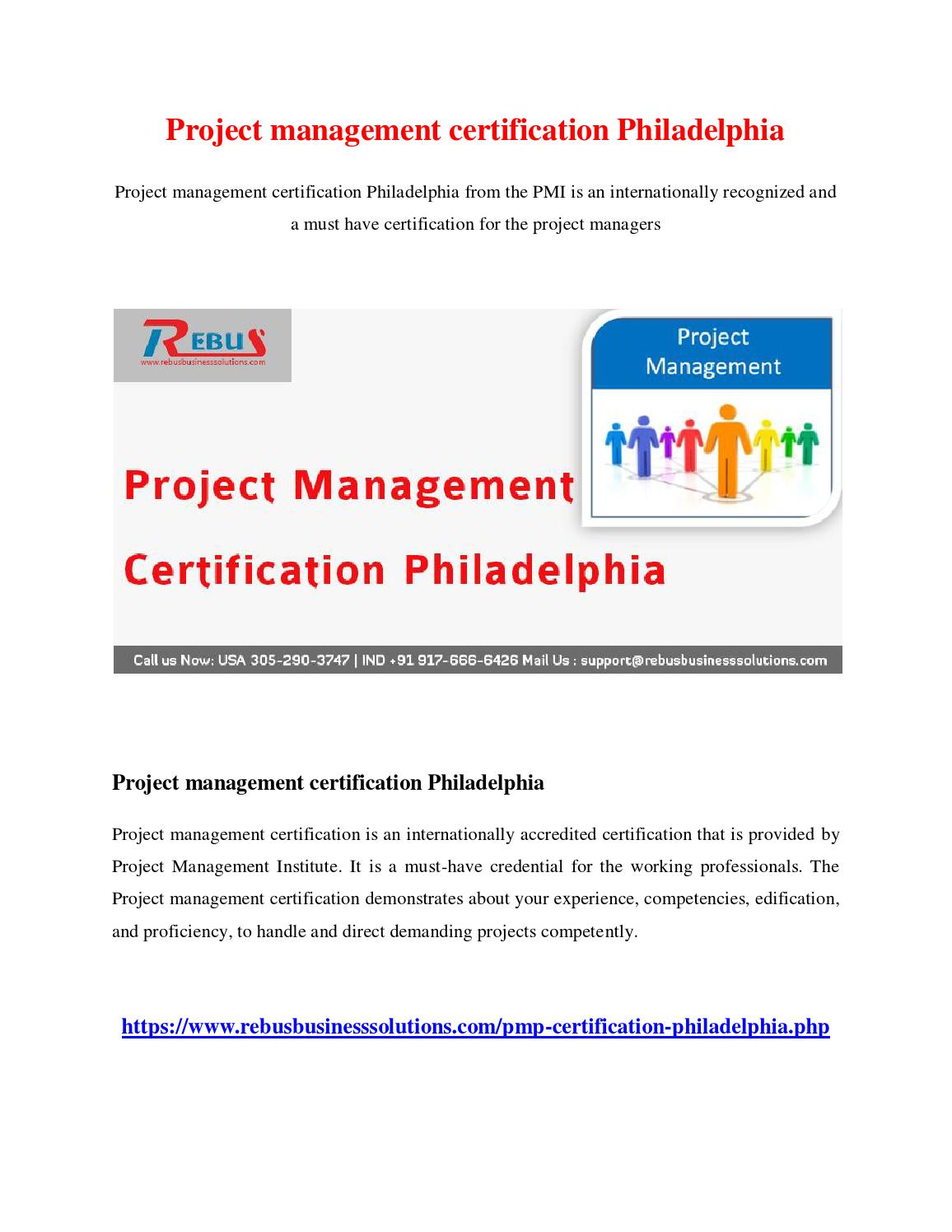 Project management certification philadelphia by vijayautony issuu xflitez Image collections