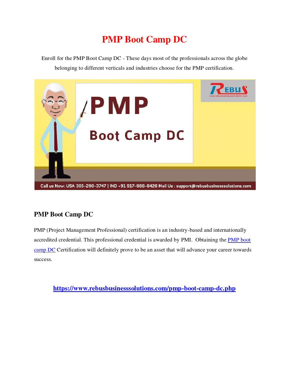 Pmp Boot Camp Dc By Vijayautony Issuu