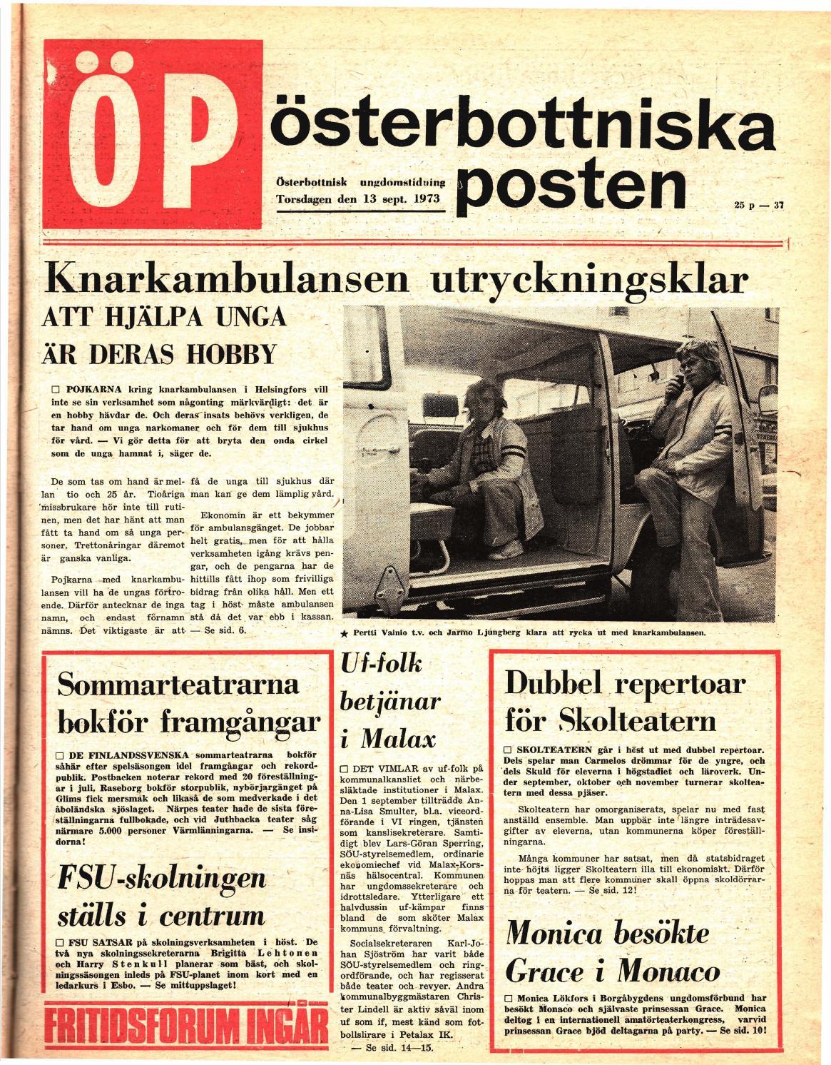 Österbottniska Posten (ÖP) nr. 37 1973 by Österbottniska Posten - issuu ff5c94320e3a0