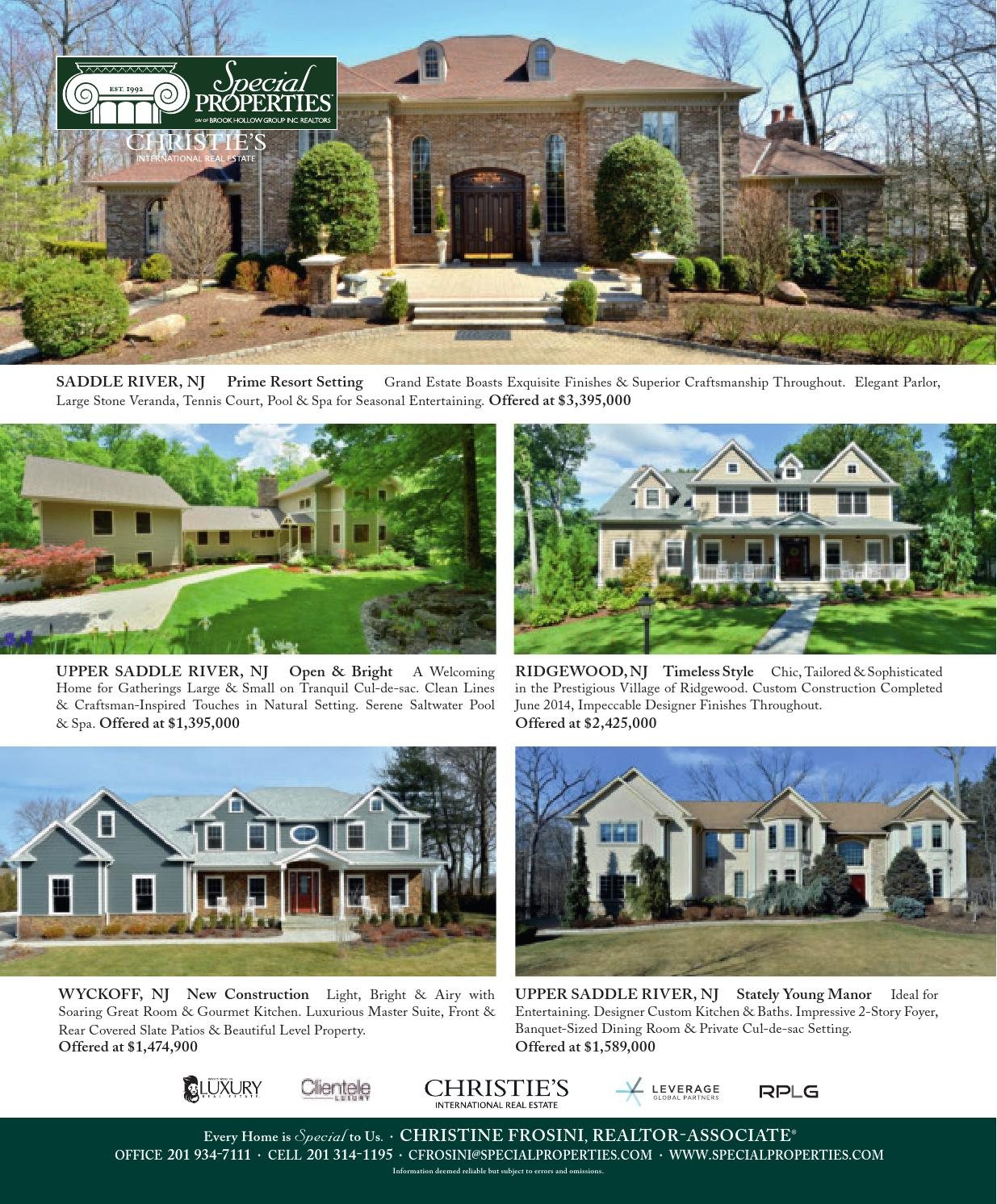 Luxury Home Builders Nj: Gallery New Jersey Luxury Homes & Estates: Spring 2016 By
