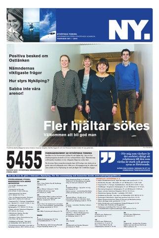 Nyköpings Tidning Nr 1 2016 By Nyköpings Kommun Issuu