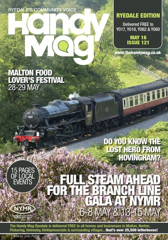 Page 1 & Handy Mag Ryedale May16 by Moonriver Publishing Ltd - issuu