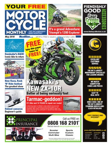 Motor Cycle Monthly - May 2016 by Mortons Media Group Ltd - issuu