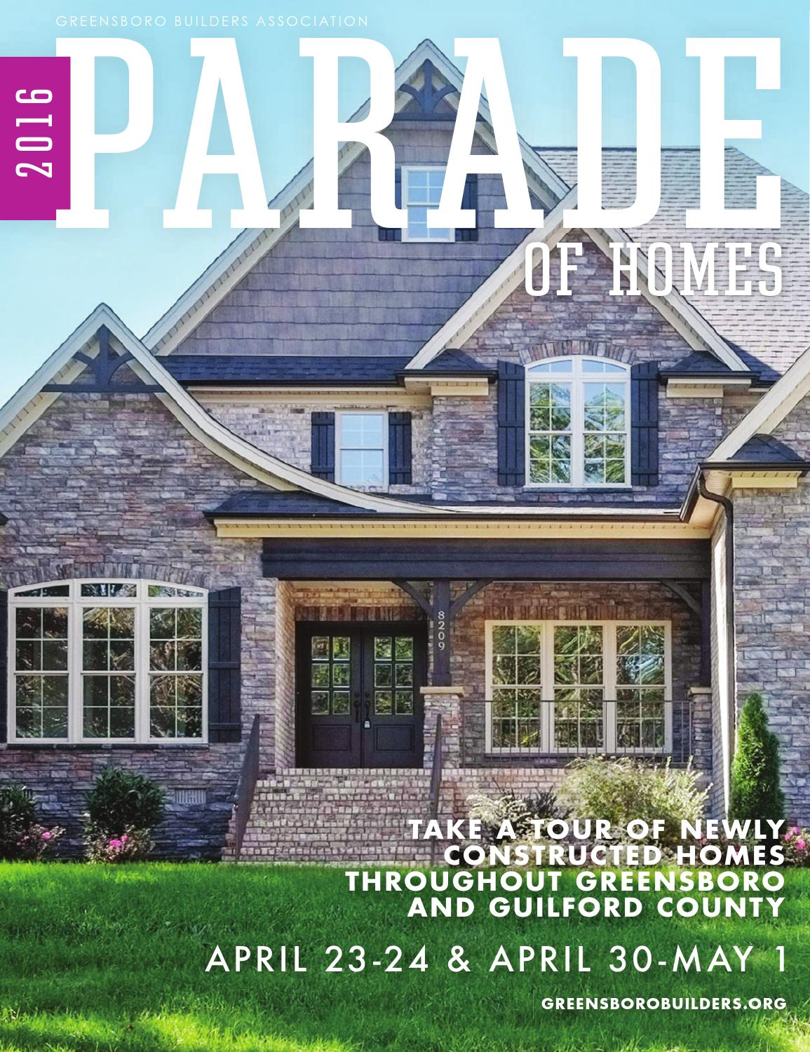 2016 spring parade of homes by greensboro builders association issuu