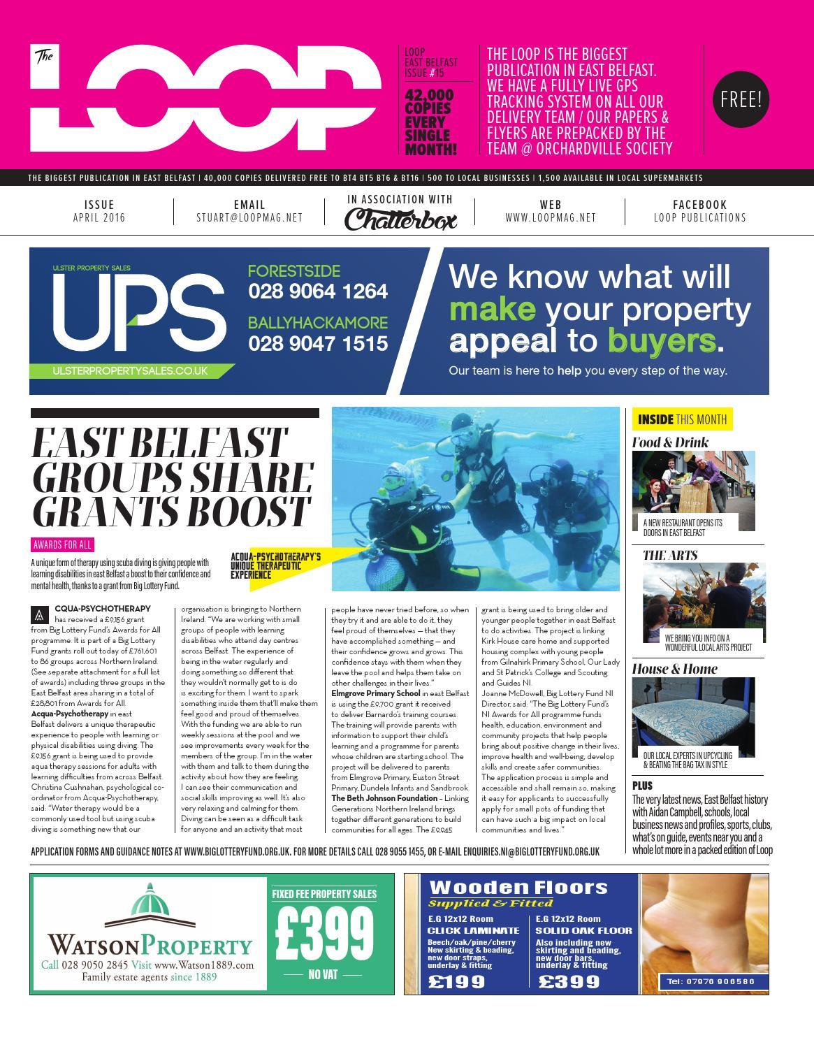 The Loop : East Belfast April 2016 by Loop Publications - issuu