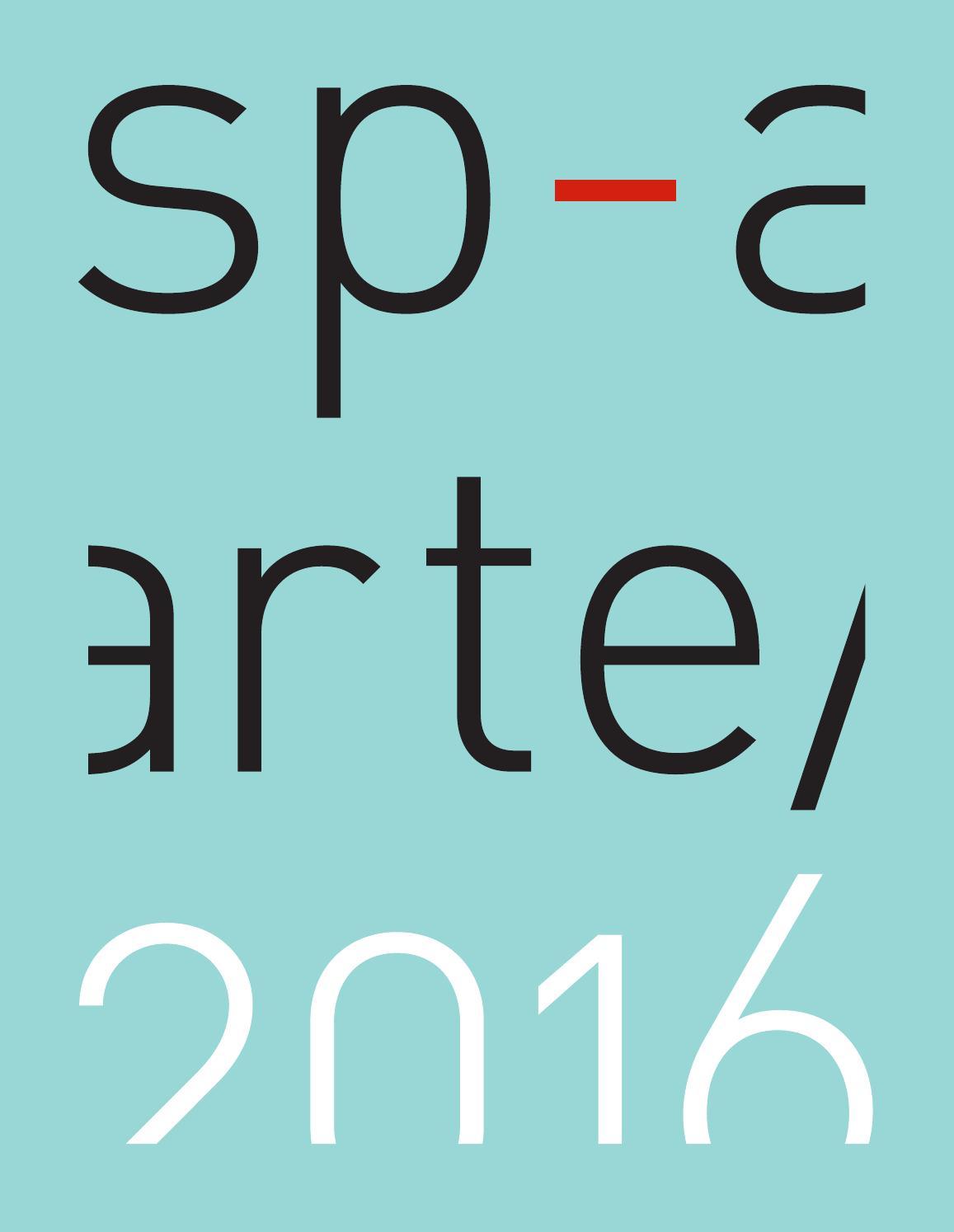 Sp arte2016 by sp arte issuu fandeluxe Choice Image
