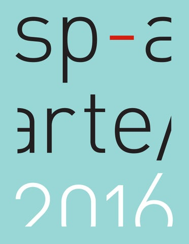 Sp arte2016 by sp arte issuu page 1 fandeluxe Image collections