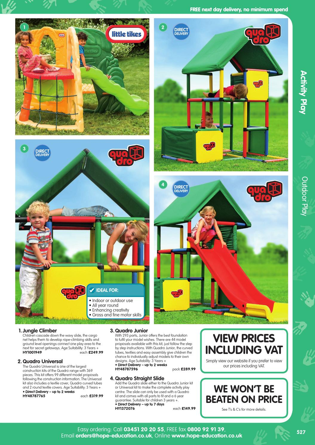 Hope Education Early Years Catalogue 2016/17 - Activity Play