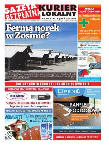 Gazeta Bezplatna Kurier Lokalny 214 By Michal Zaczyk Issuu
