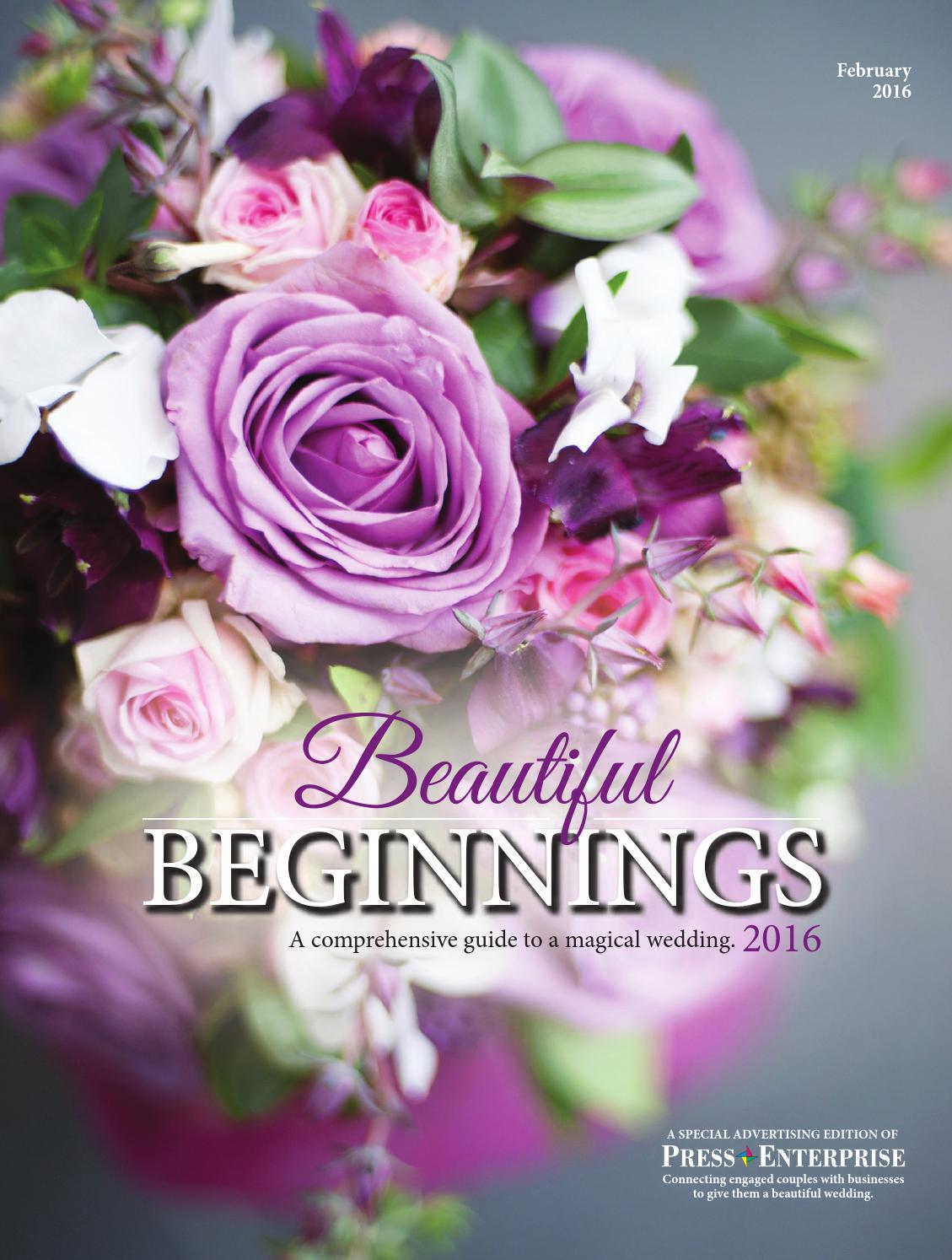 Beautiful beginnings 2016 bridal edition by press enterprise issuu izmirmasajfo