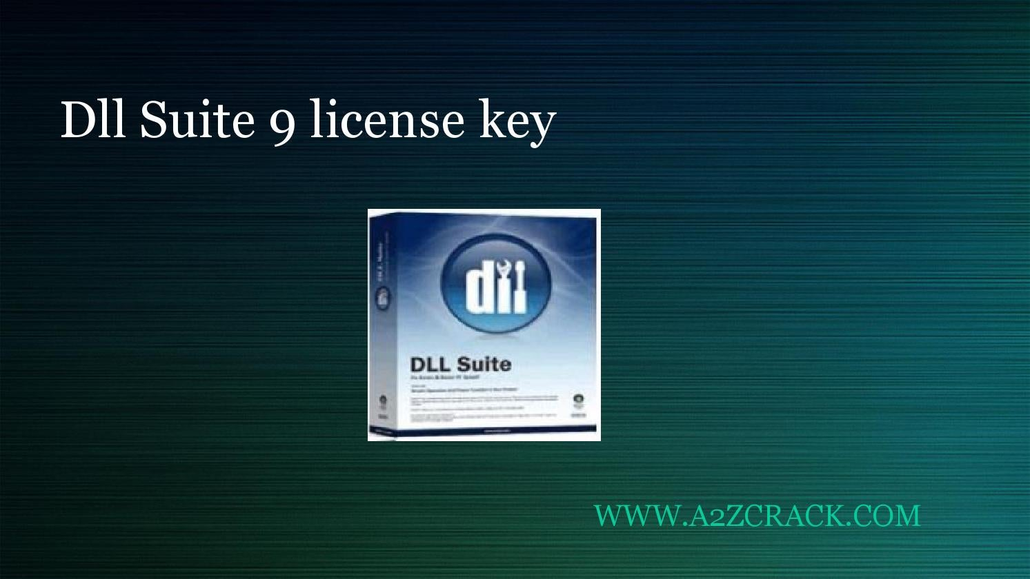 dll suite version 9.0 with license key