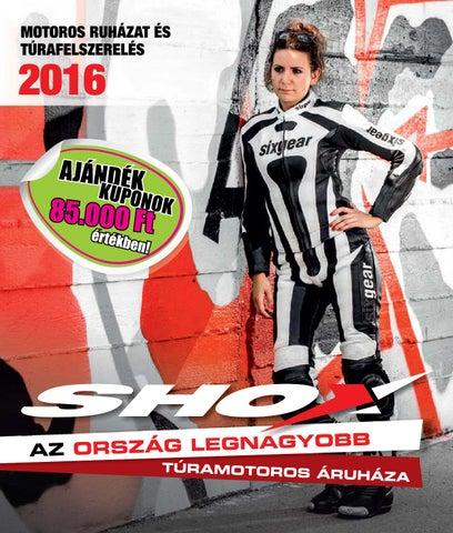 SHOX 2016-os katalógus 2016.04.11. by Shox Kft. - issuu 2a178f86ae